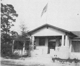 The library presented a new look when it hosted the Alabama Library Association meeting in 1925.